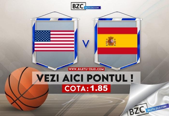 SUA – Spania ponturi pariuri 18.07.2021