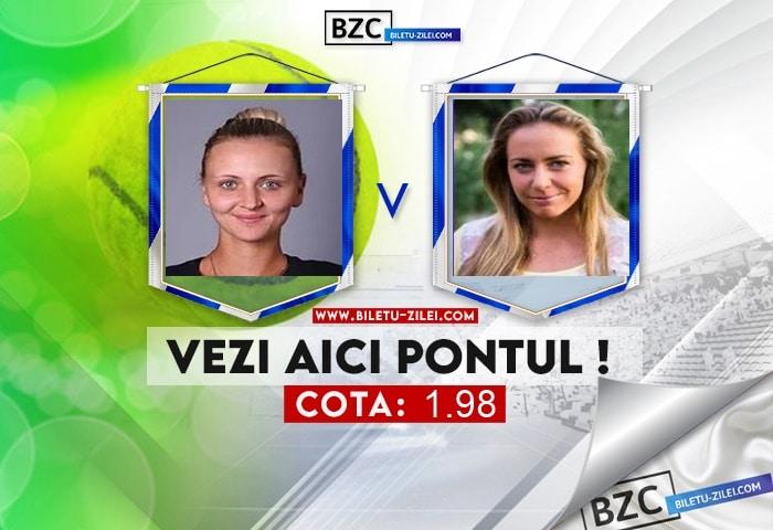 Maryna Zanevska – Kristina Kucova ponturi pariuri 25.07.2021