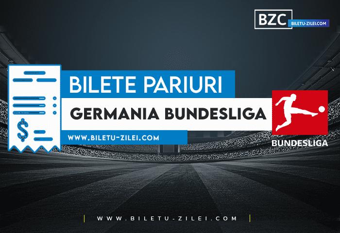 Bilete pariuri Germania Bundesliga – Etapa 9