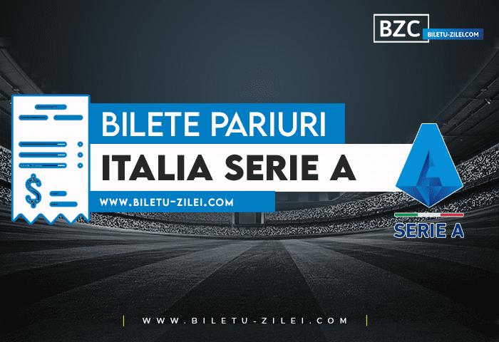 Bilete pariuri Italia Serie A – Etapa 9