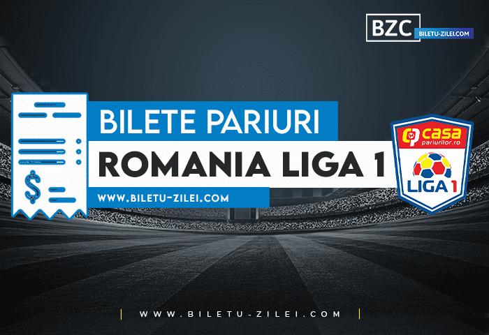 Bilete pariuri Romania Liga 1 – Etapa 3