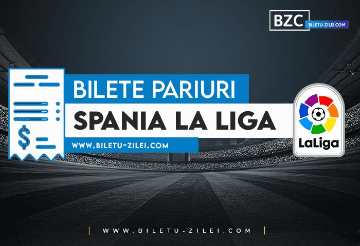 Bilete pariuri Spania La Liga – Etapa 10