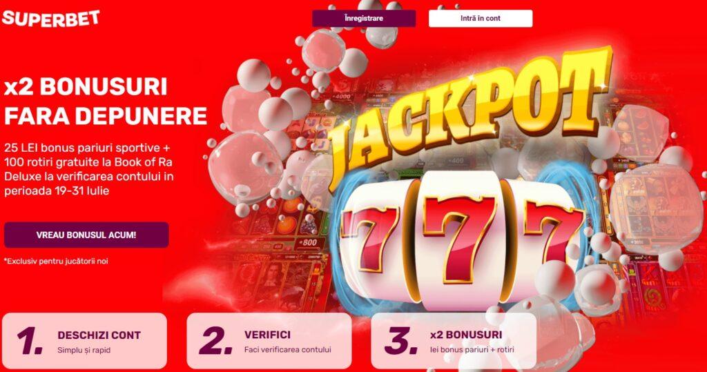 bonus superbet pariuri casino fara depunere