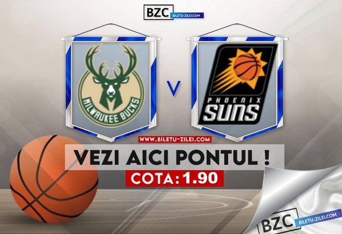 Milwaukee Bucks – Phoenix Suns ponturi pariuri 20.07.2021