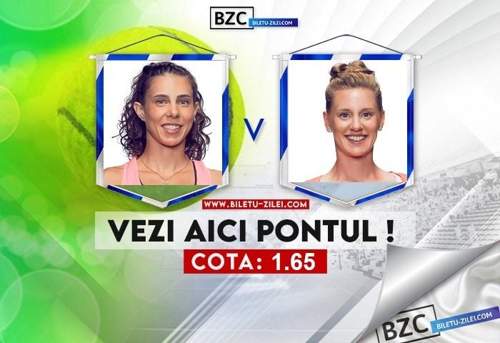 Mihaela Buzarnescu – Alison Riske ponturi pariuri 24.07.2021