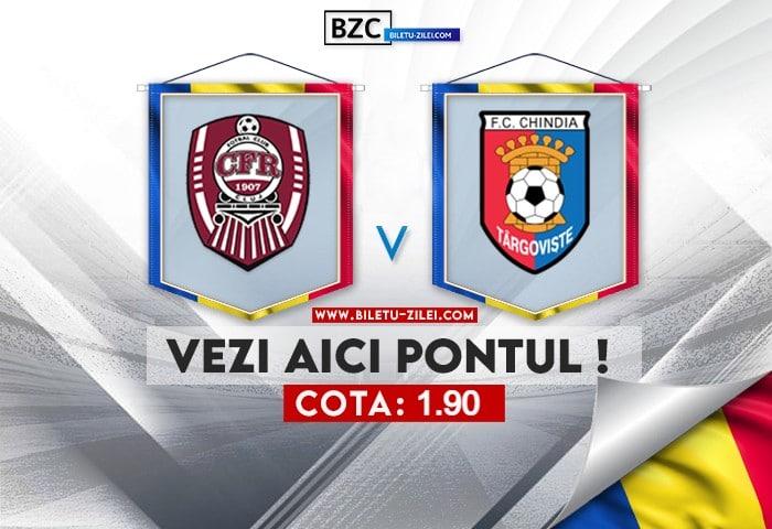 CFR Cluj – Chindia ponturi pariuri 31.07.2021