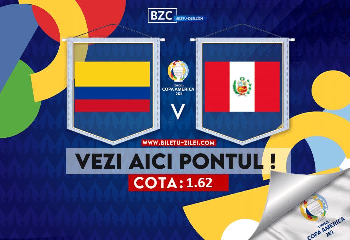Columbia – Peru ponturi pariuri 10.07.2021