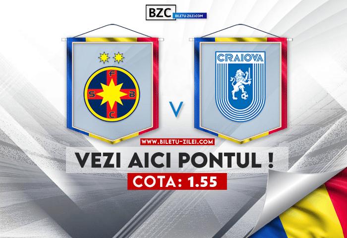FCSB – Universitatea Craiova ponturi pariuri 25.07.2021