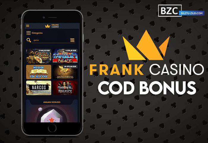 Frank Casino cod promo