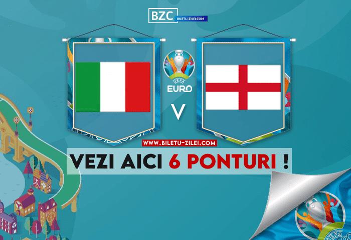 Italia – Anglia ponturi pariuri 11.07.2021