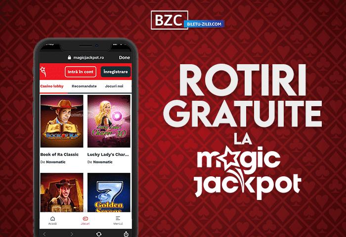 Magic Jackpot rotiri gratuite