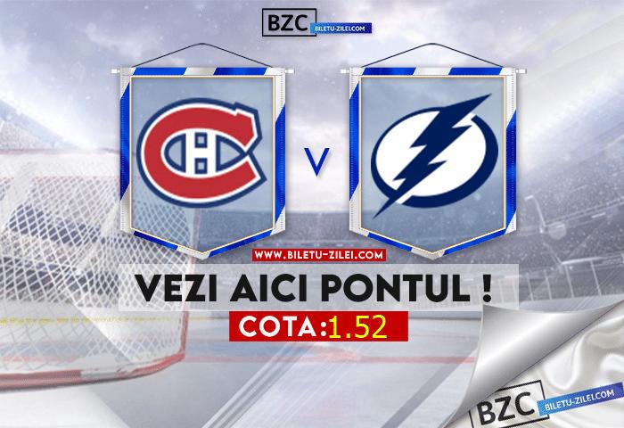 Montreal Canadiens – Tampa Bay Lightning ponturi 02.07.2021