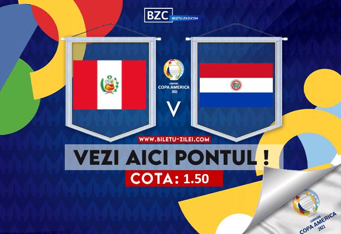 Peru – Paraguay ponturi pariuri 03.07.2021