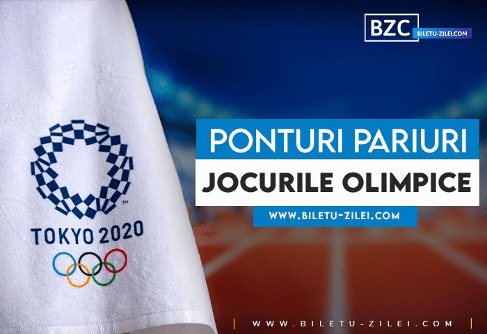 Ponturi pariuri Jocurile Olimpice – 25.07.2021