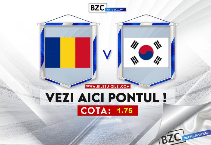 Romania U23 – Coreea de Sud U23 ponturi pariuri 25.07.2021
