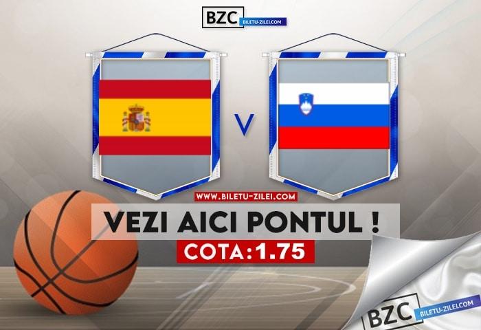Spania – Slovenia ponturi pariuri 01.08.2021