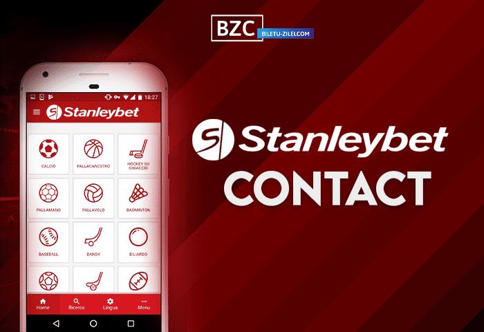 Stanleybet contact