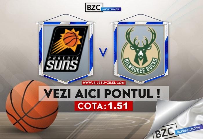Phoenix Suns – Milwaukee Bucks ponturi pariuri 06.07.2021