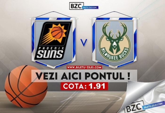 Phoenix Suns – Milwaukee Bucks ponturi pariuri 08.07.2021