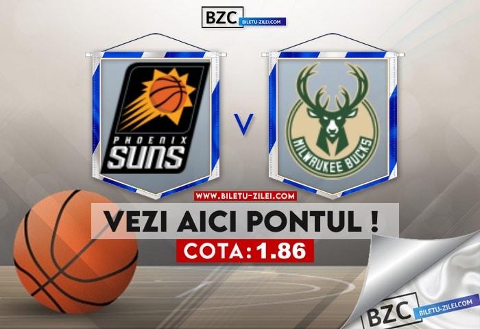 Phoenix Suns – Milwaukee Bucks ponturi pariuri 17.07.2021