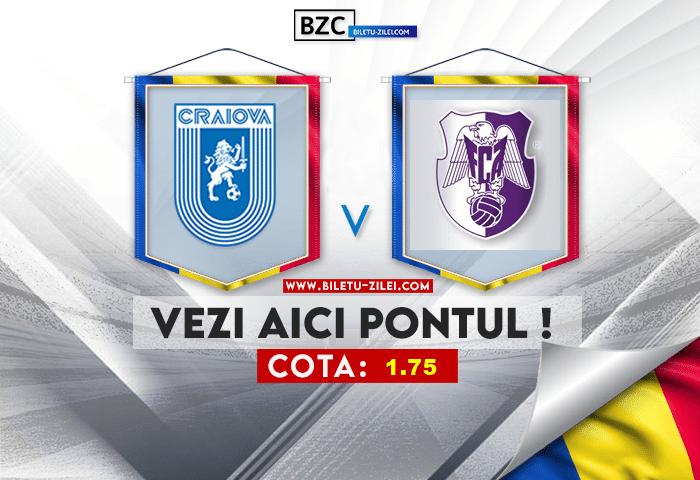 U Craiova – FC Arges ponturi pariuri 17.07.2021
