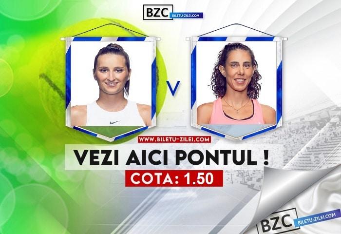 Marketa Vondrousova – Mihaela Buzarnescu ponturi pariuri 26.07.2021