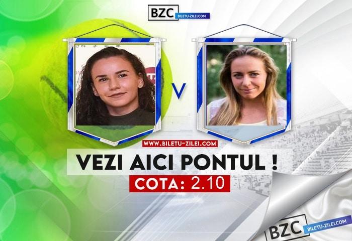 Irina Bara – Kristina Kucova ponturi pariuri 05.08.2021