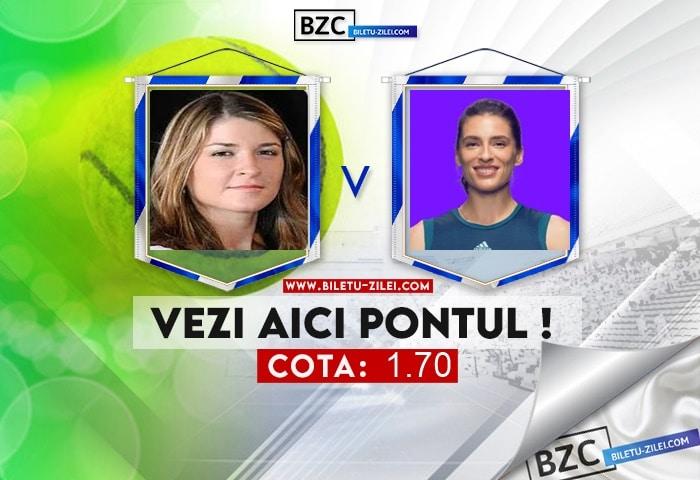 Alexandra Dulgheru – Andrea Petkovic ponturi 03.08.2021