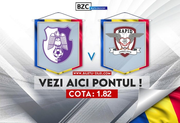 FC Arges – Rapid Bucuresti ponturi pariuri 07.08.2021