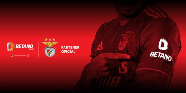 BETANO este partener oficial al clubului Benfica Lisabona