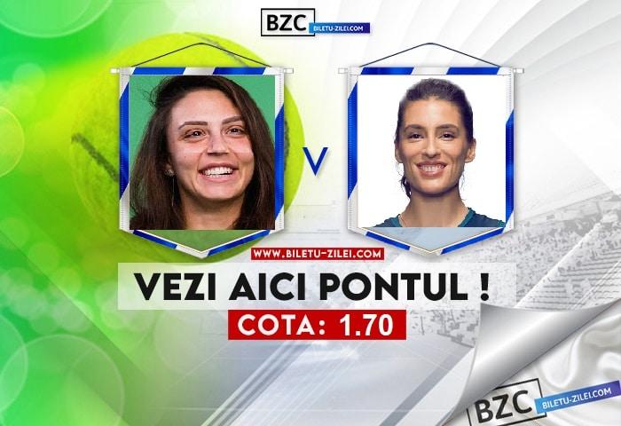 Jaqueline Cristian – Andrea Petkovic ponturi pariuri 04.08.2021