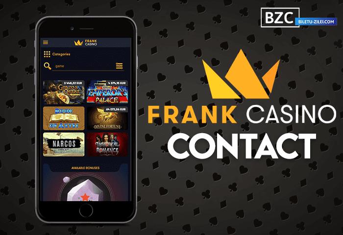 Frank Casino contact