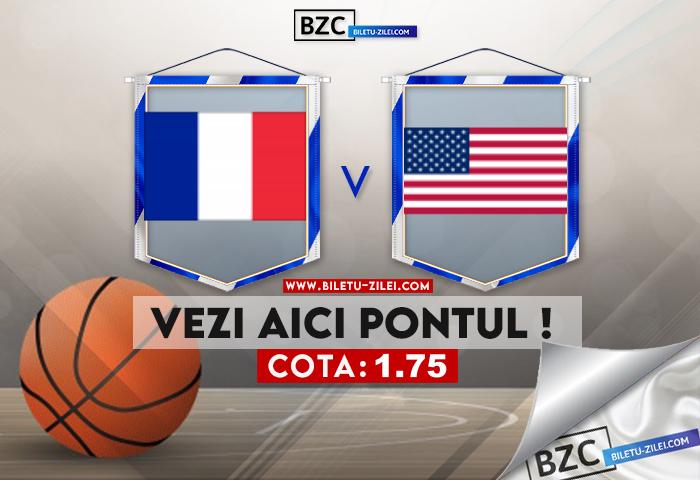 Franta – SUA ponturi pariuri 07.08.2021