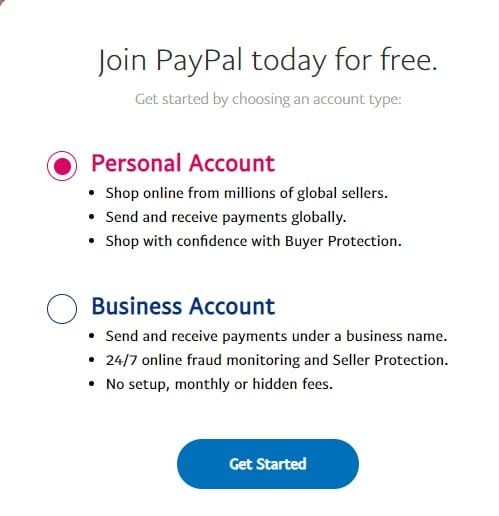 paypal inregistrare