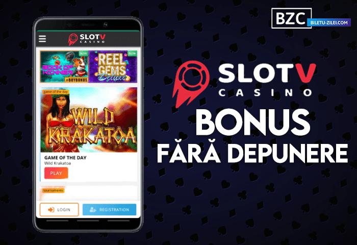SlotV bonus fără depunere