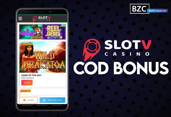 SlotV – cod promo