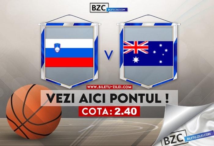 Slovenia – Australia ponturi pariuri 07.08.2021