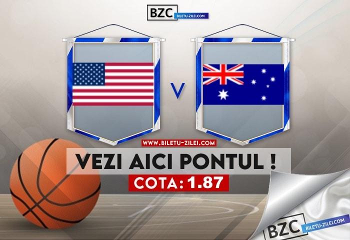 SUA – Australia ponturi pariuri 05.08.2021