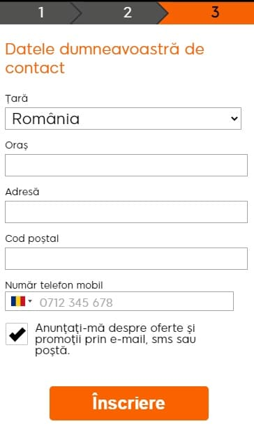 888sport inregistrare contact
