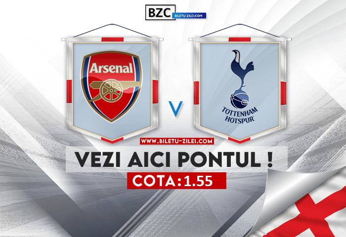 Arsenal – Tottenham ponturi pariuri 26.09.2021