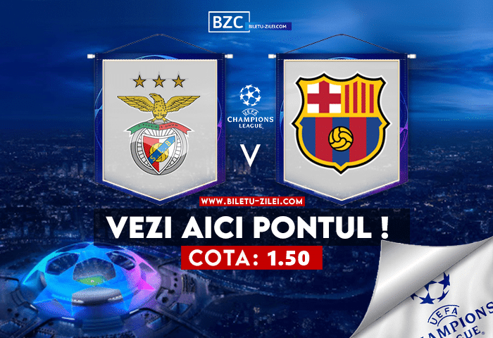 Benfica – Barcelona ponturi pariuri 29.09.2021