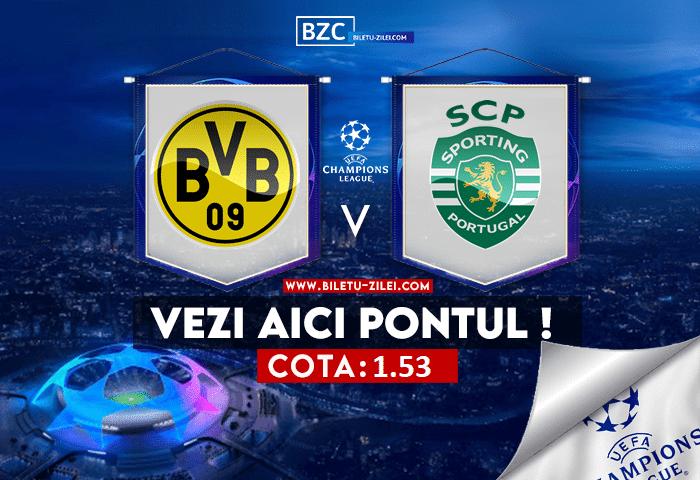 Dortmund – Sporting ponturi pariuri 28.09.2021