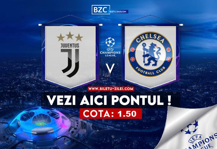 Juventus – Chelsea ponturi pariuri 29.09.2021