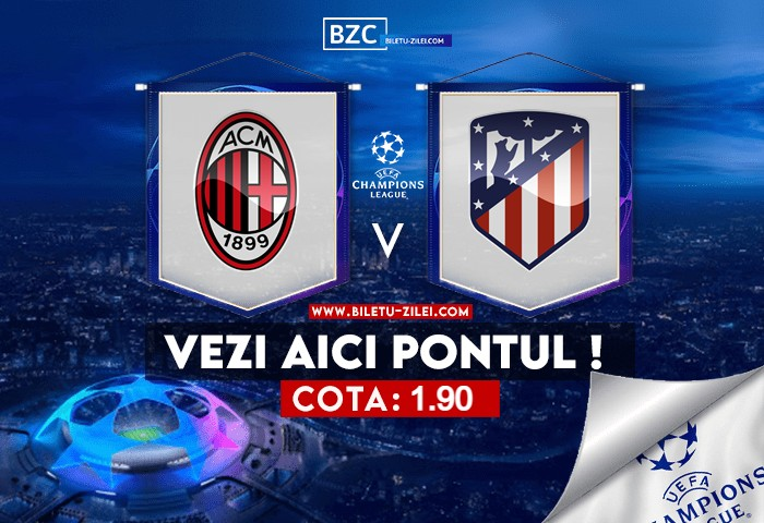 AC Milan – Atletico Madrid ponturi pariuri 28.09.2021