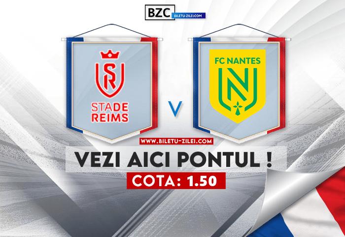 Reims – Nantes ponturi pariuri 26.09.2021