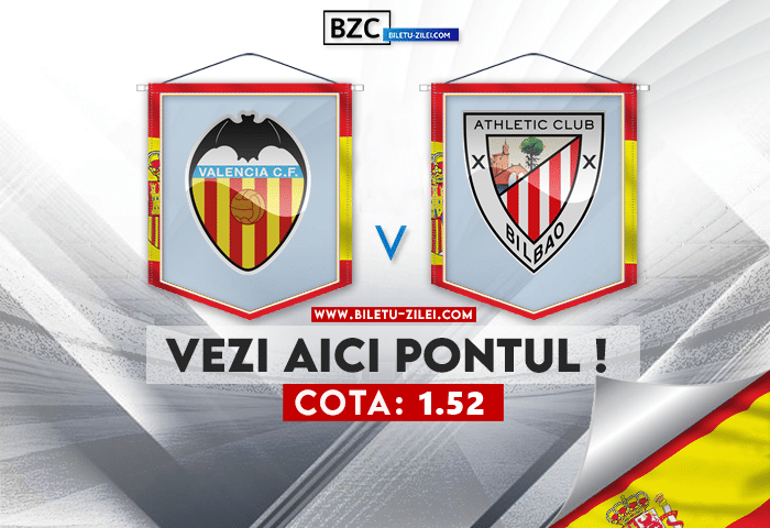 Valencia – Bilbao ponturi pariuri 25.09.2021