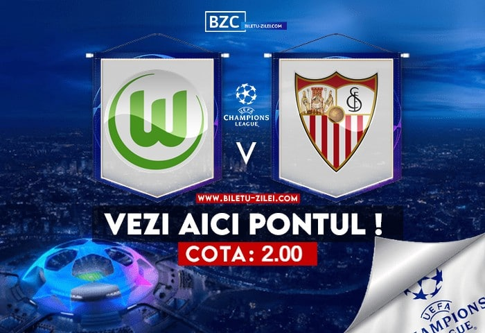 Wolfsburg – Sevilla ponturi pariuri 29.09.2021