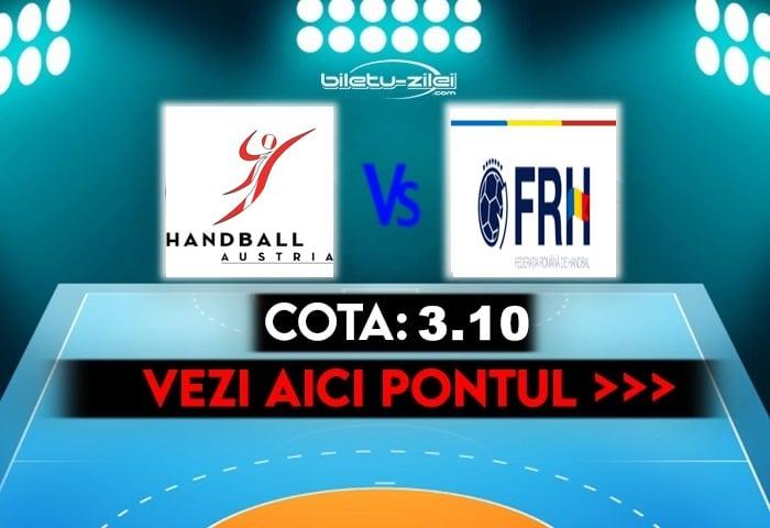 Austria – Romania ponturi pariuri 10.10.2021