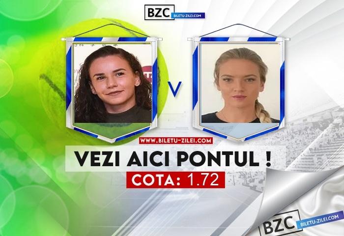 Irina Bara – Tereza Martincova ponturi pariuri 19.10.2021