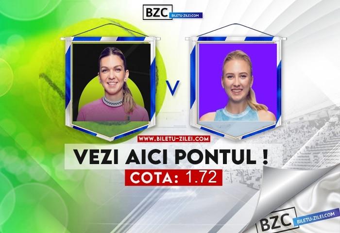 Simona Halep – Anastasia Potapova ponturi pariuri 19.10.2021